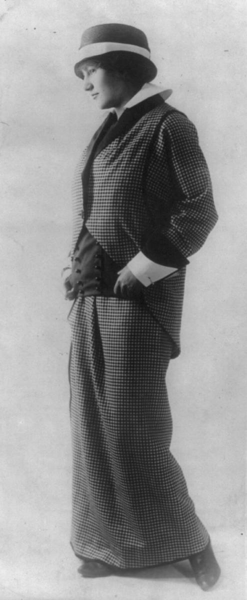 Edwardian suit by Paul Poiret 1914