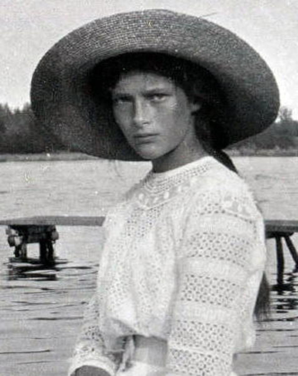 Grande Duchess Tatiana circa 1911 Romanov Collection, General Collection, Beinecke Rare Book and Manuscript Library, Yale University