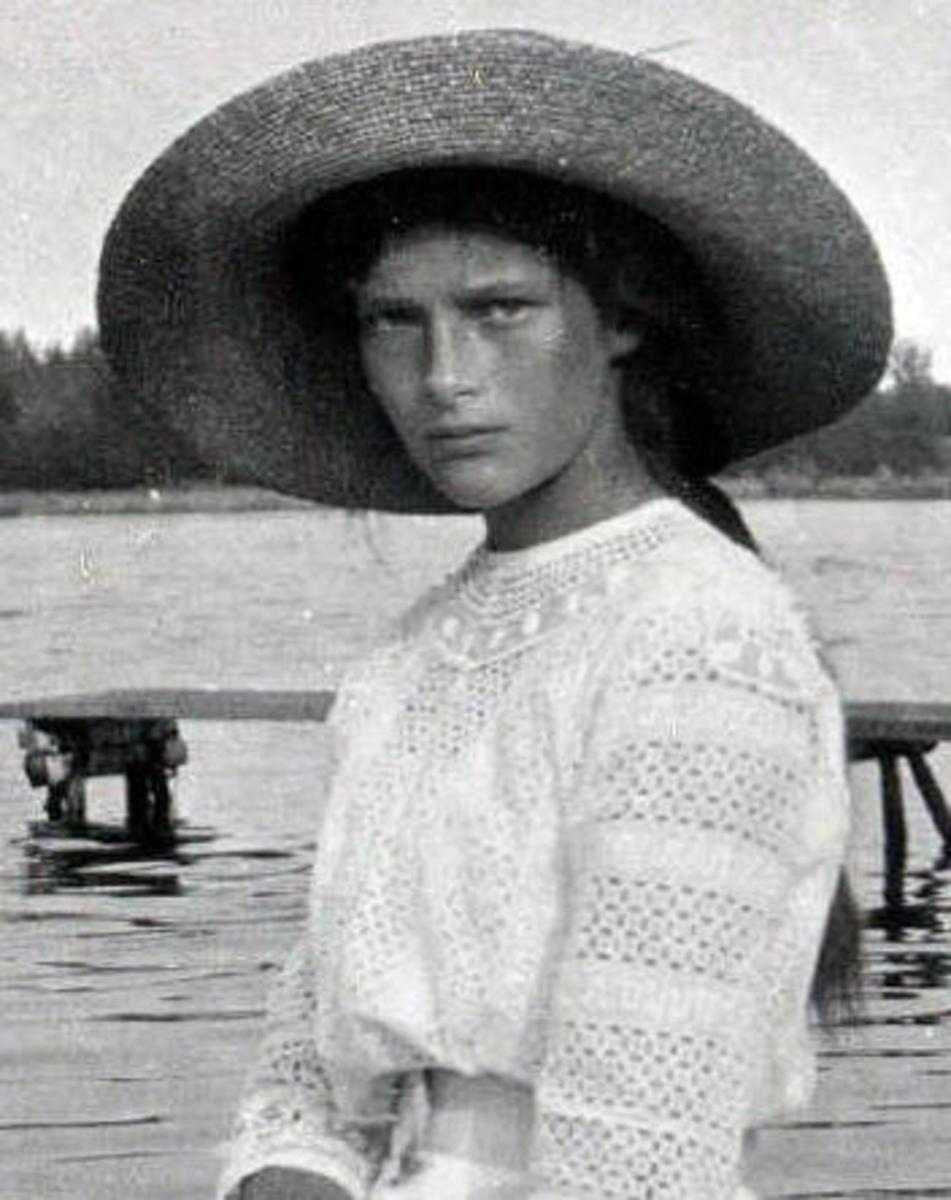 Grande Duchess Tatiana circa 1911 Romanov Collection, General Collection, Beinecke Rare Book and Manuscript Library, Yale University
