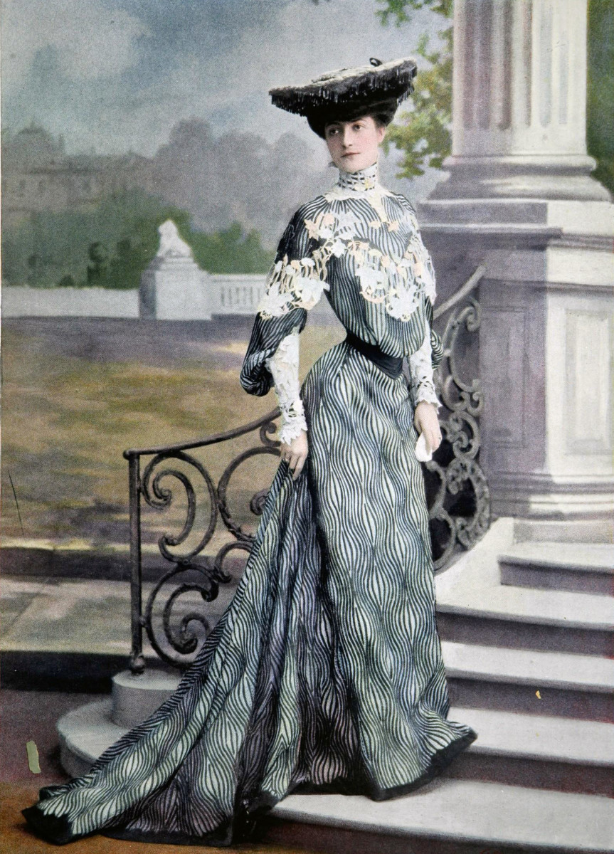 Fashion History - Edwardian Style of Late 1890s - 1914  9ac5ddedb