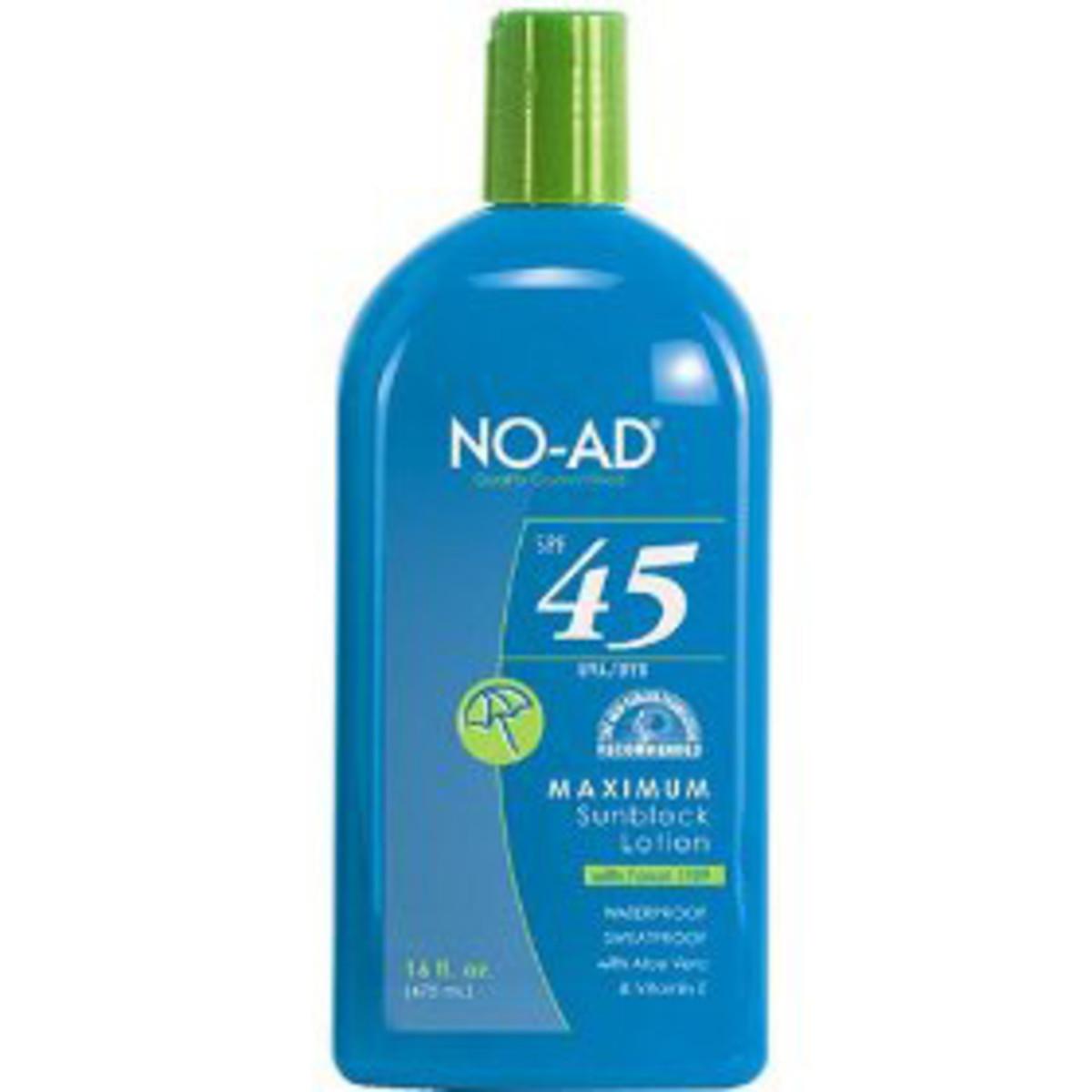 NO-AD Sunscreen
