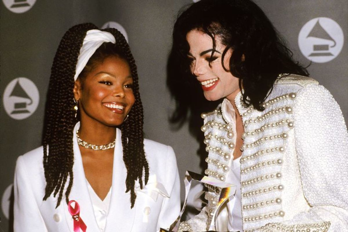 Michael Jackson and Janet Jackson were early trendsetters of the 80's.