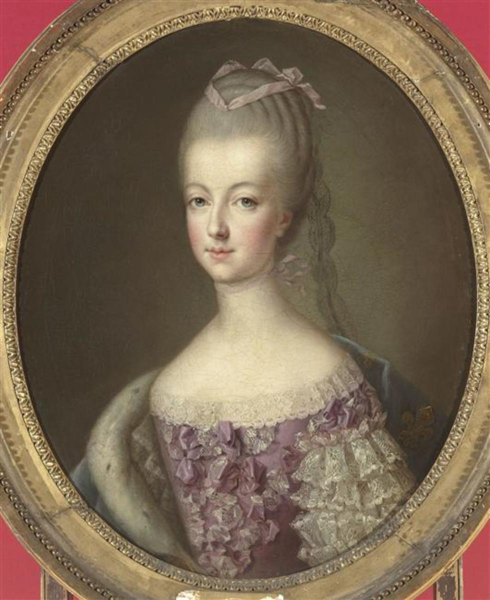 Marie Antoinette as the Dauphine of France in 1773