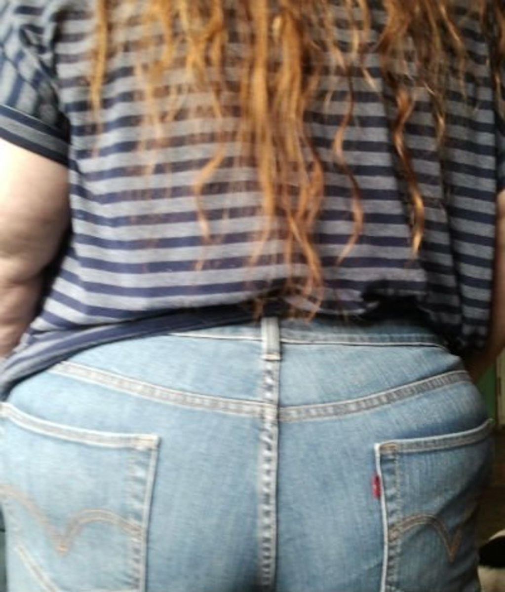 My big butt in Levis.