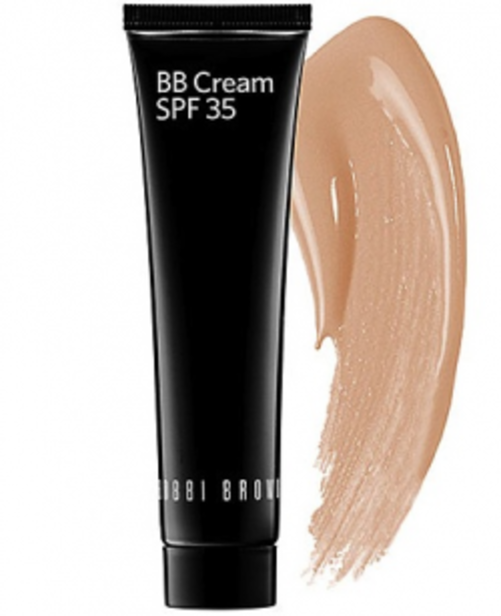 BBBB (that's Bobbi Brown Beauty Balm) is one of the best choices for olive skin