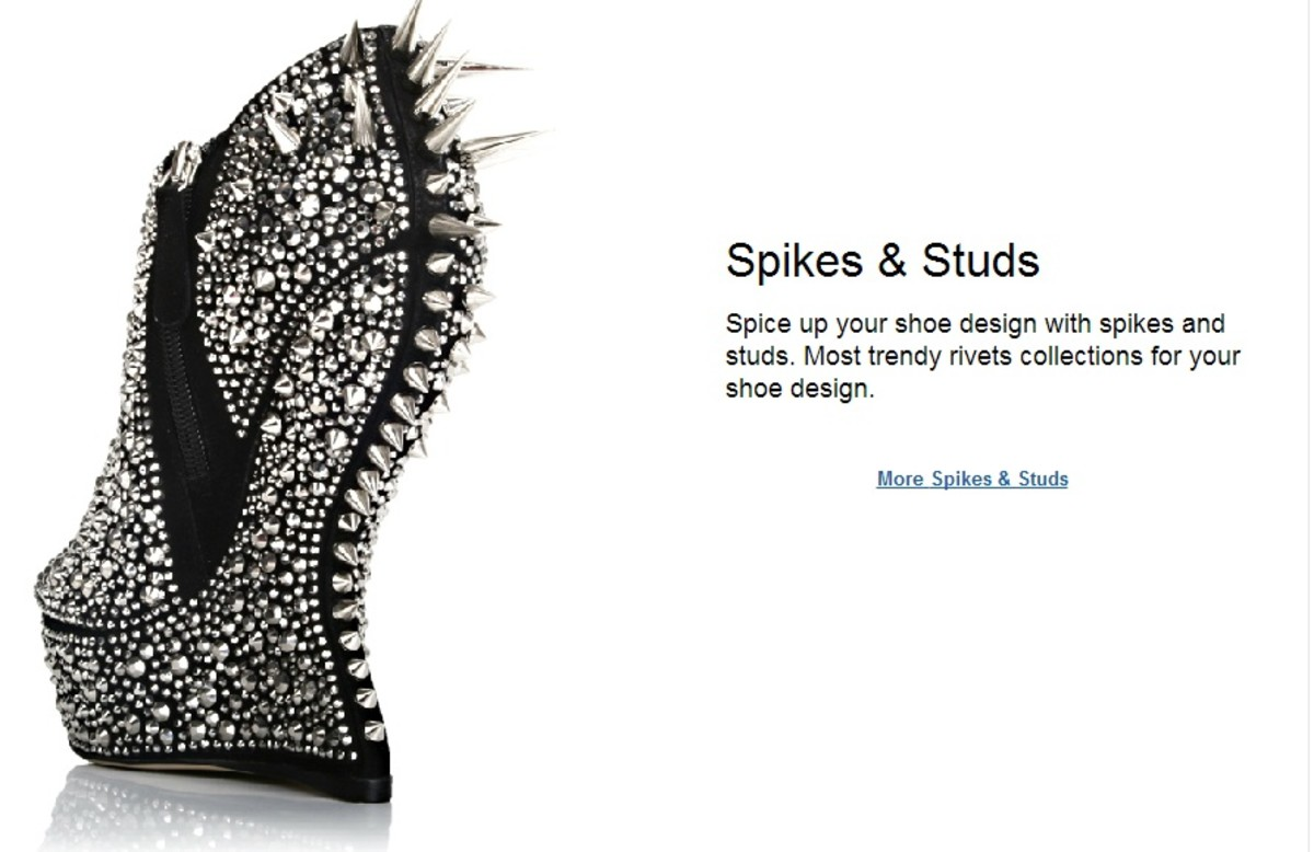 Embellish your shoe designs