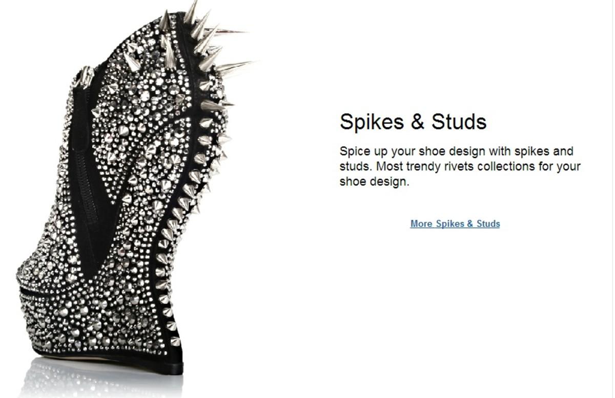 Embellish your shoe designs