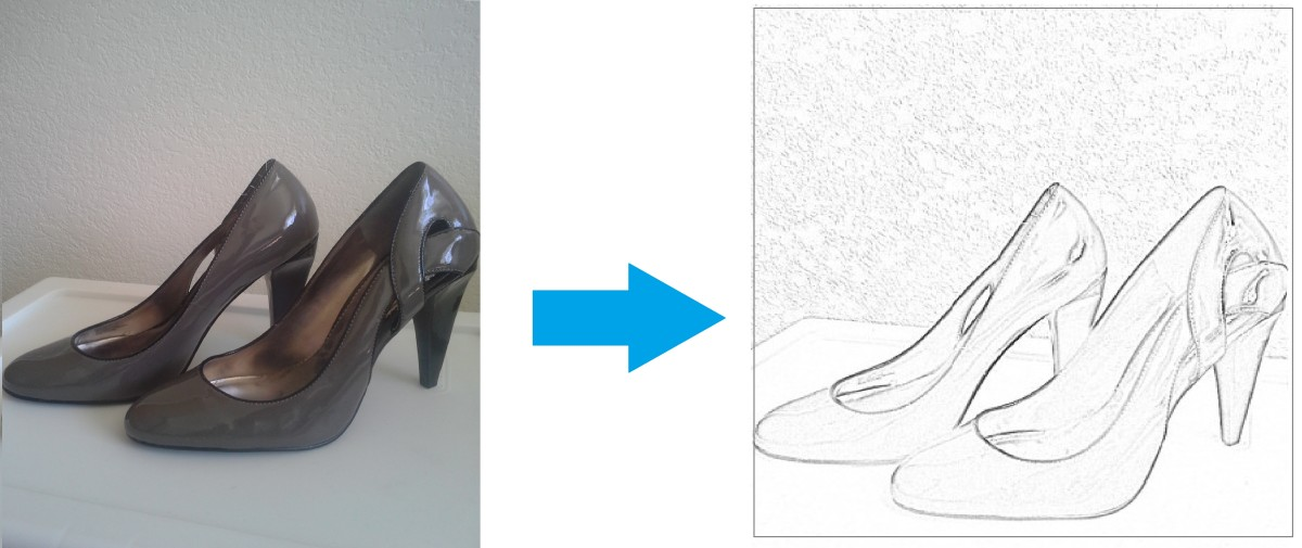 Convert your picture into a sketch