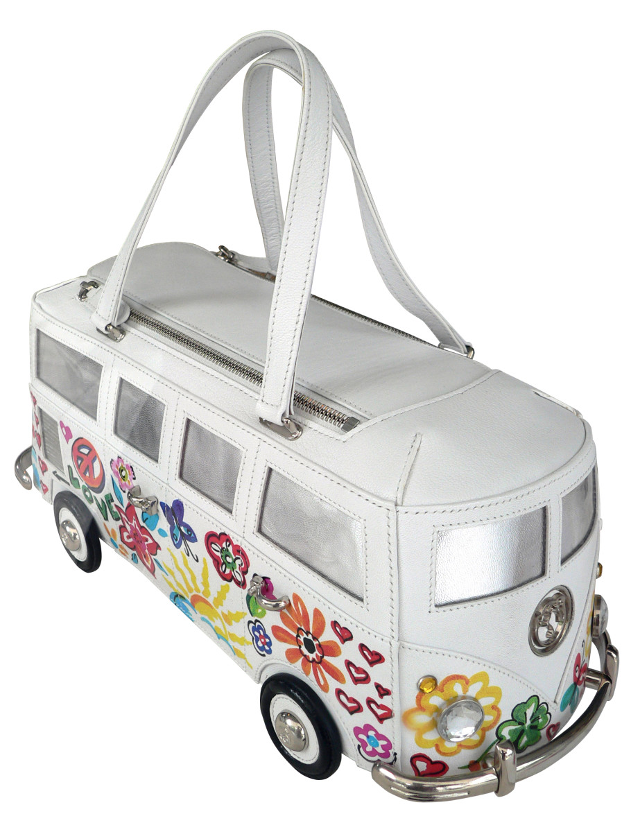 fancy a vintage Volkswagen bus  as your unique handbag?