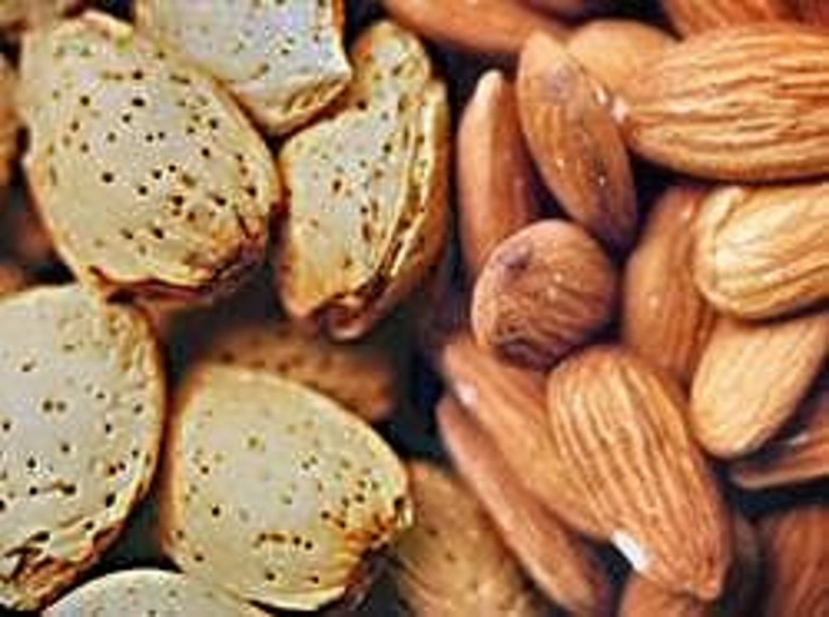 Almonds are a natural skin care product free of chemicals and pesticides often found in commercial brands of cosmetics.