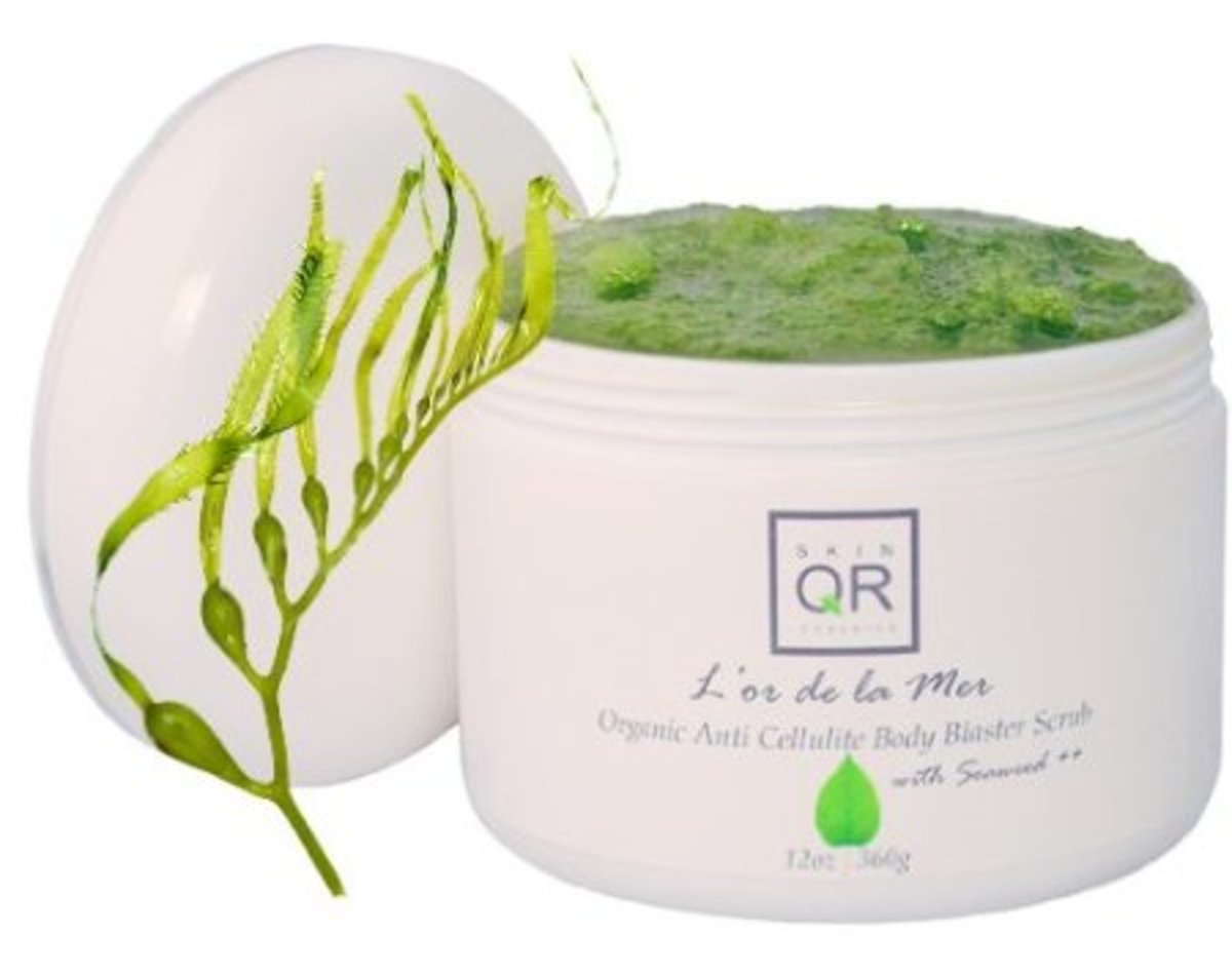 L'or de la Mer Organic Anti Cellulite Body Blaster Scrub with Seaweed