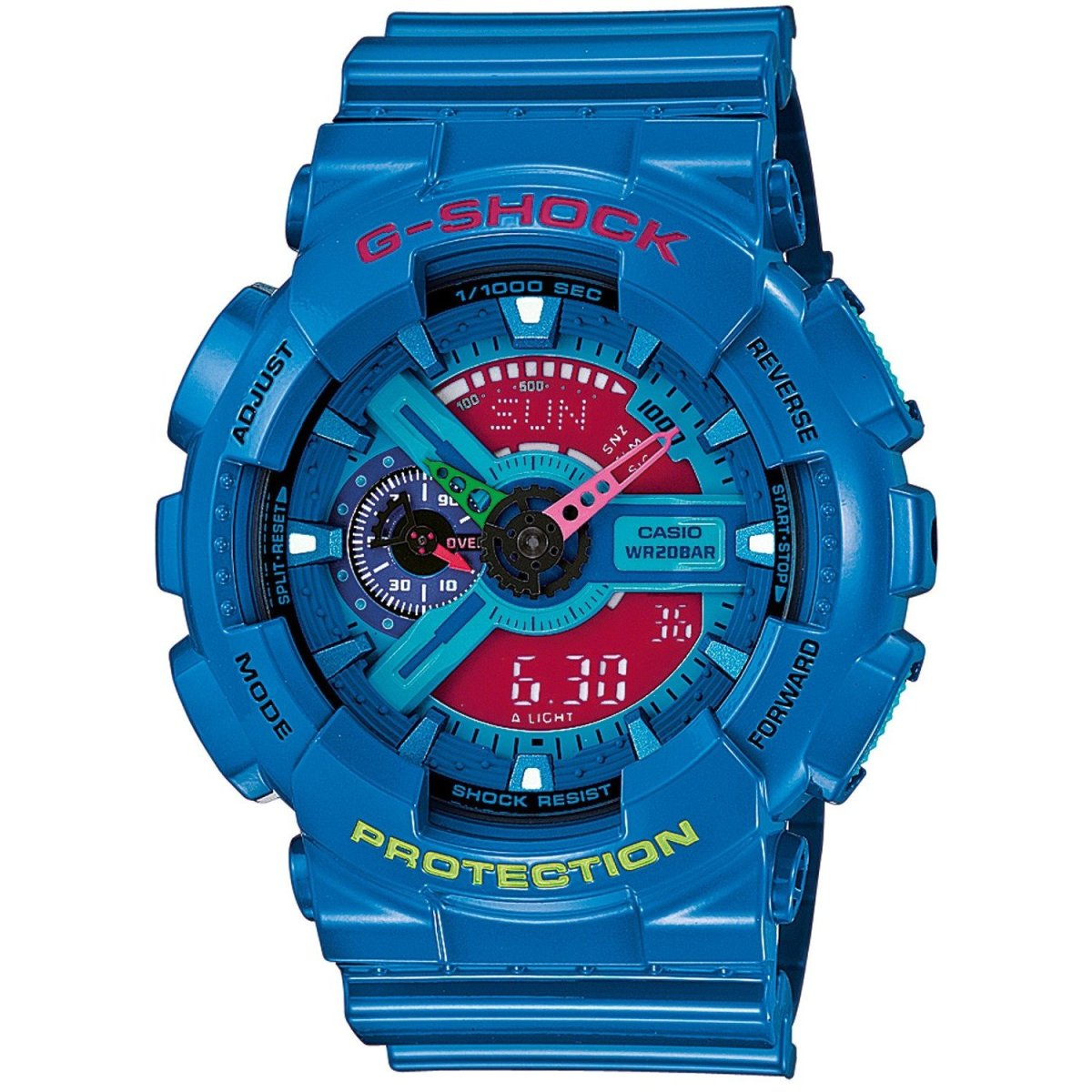 The GA110HC-2AER makes a colorful statement.