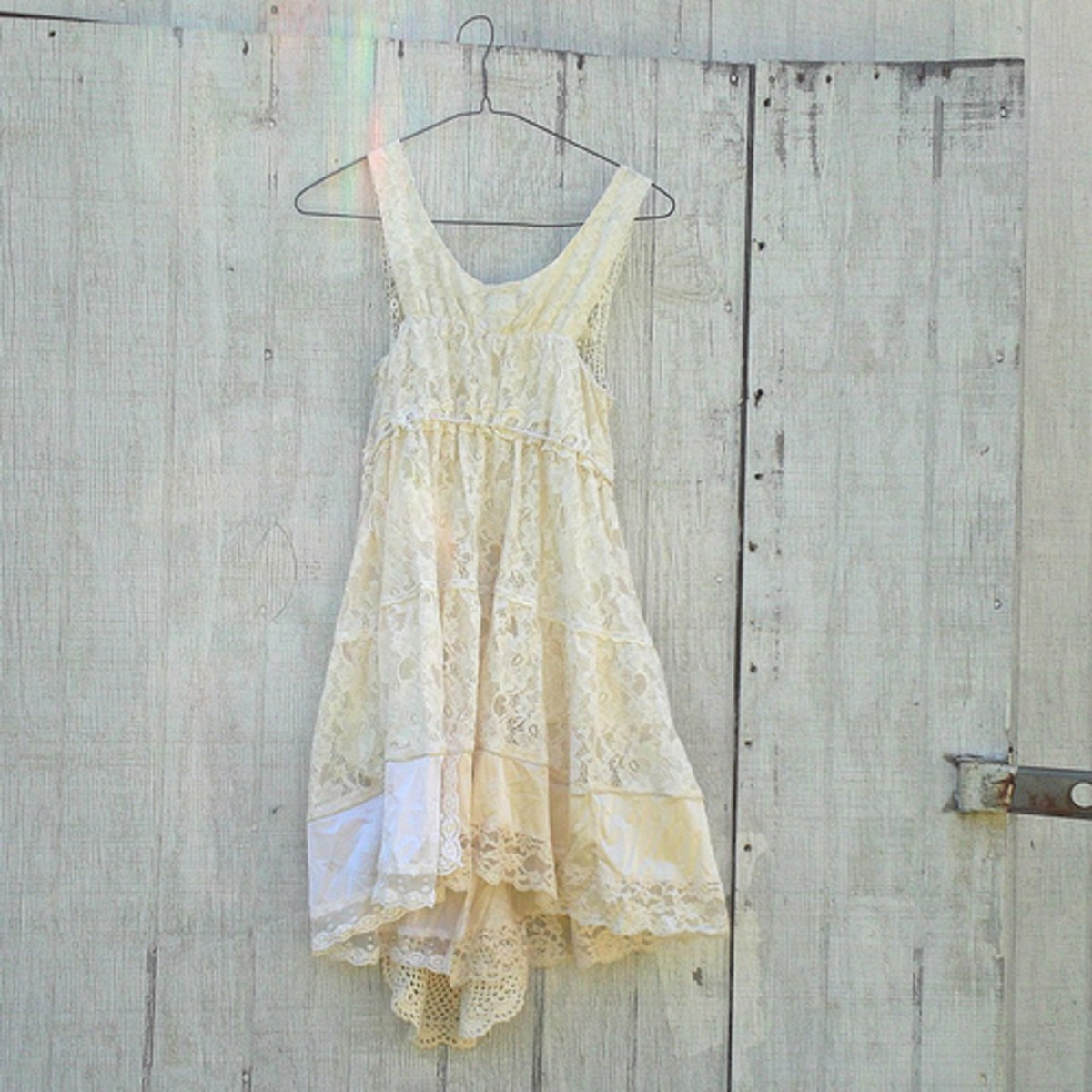 A Lacy Summer Sundress