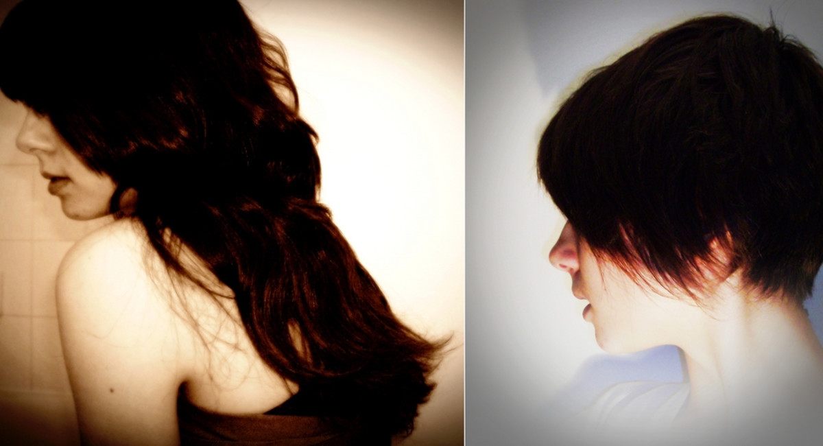 We all want hair like the girl on the left, don't we? It is possible, even after Mirena.