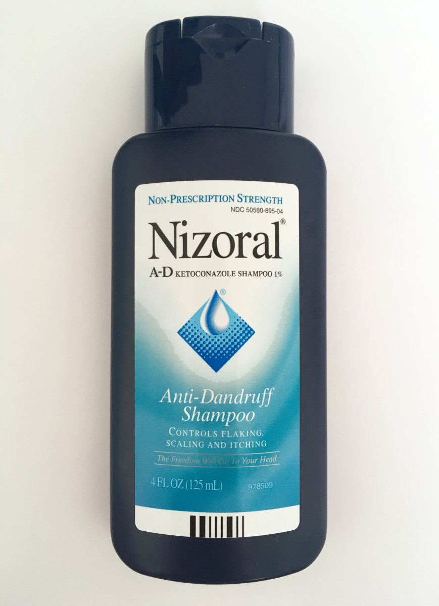 Nizoral shampoo also helps treat dandruff.