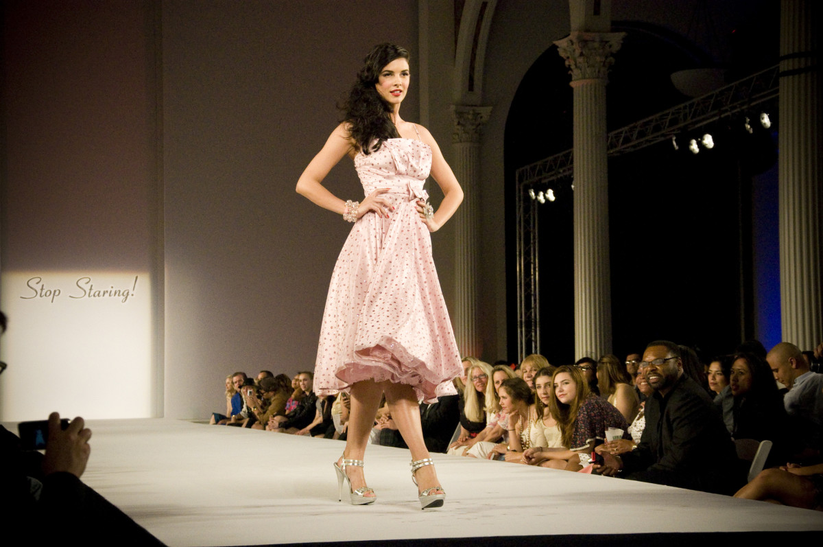 One of the Gorgeous 50s Style Dresses from Stop Staring Fashion Show!