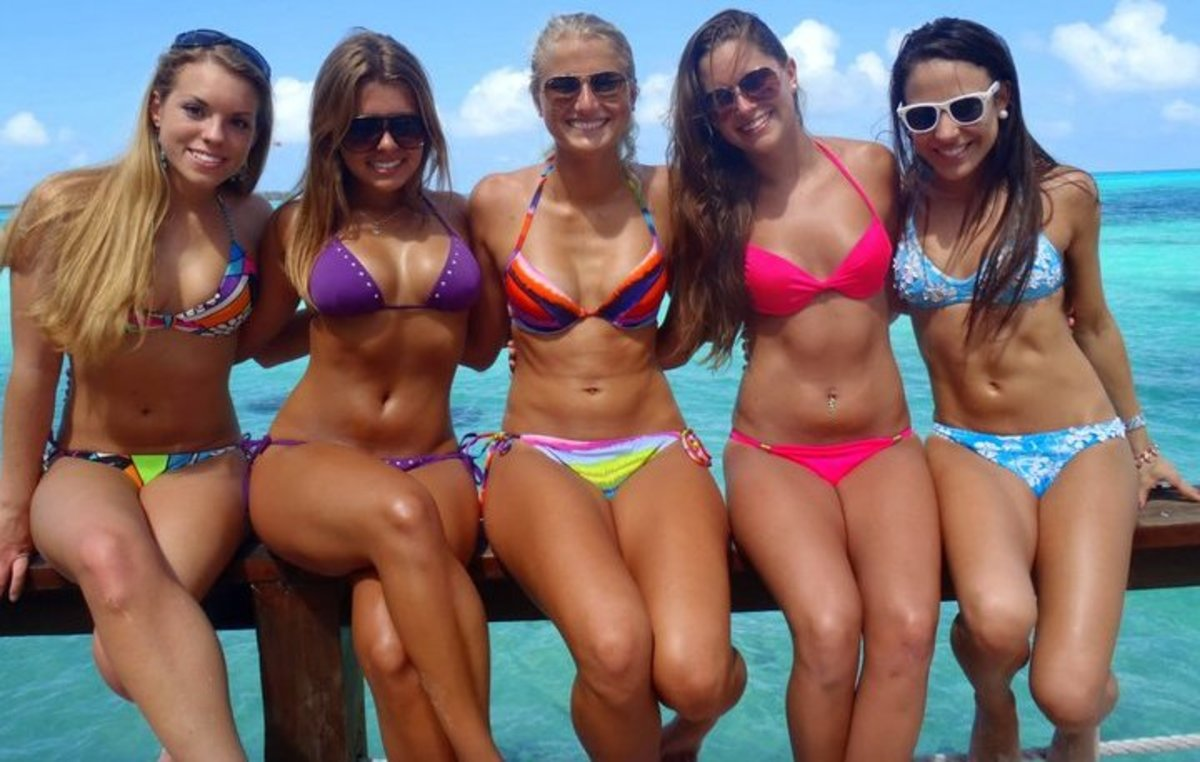 Less than 1 in 5 women choose bikinis.  Use these tips to look great and get noticed on the beach.  (Don't forget, however, that what really counts is your heart and mind.)