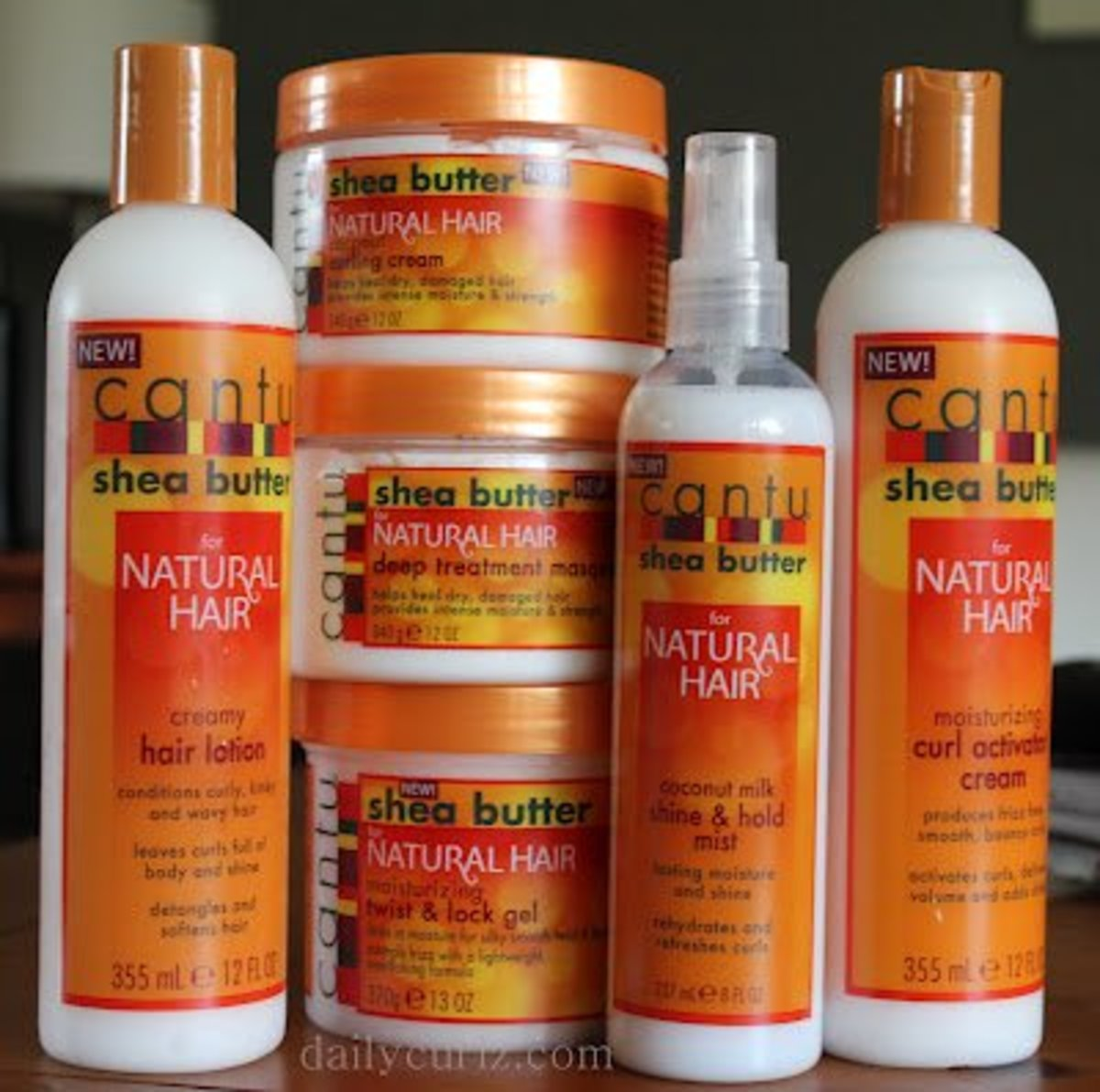Cantu Shea Butter Natural Hair Line Review