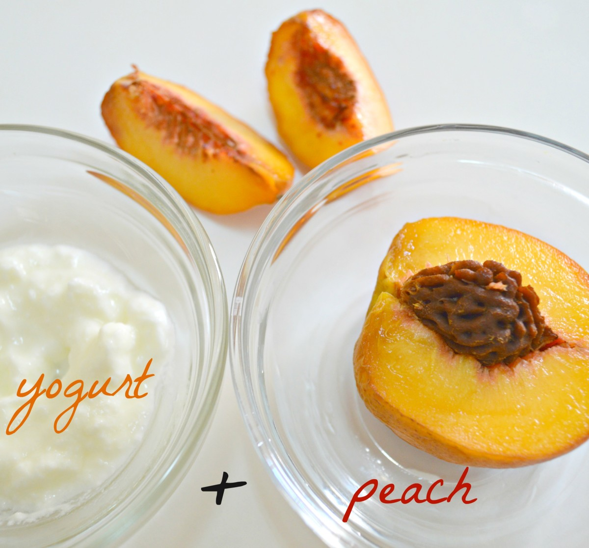 Peach face mask - smells like heaven.