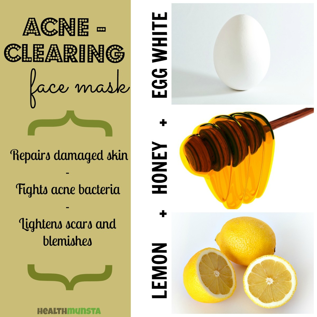 Diy top 5 easy homemade face mask recipes for beautiful skin potent egg white face mask with honey and lemon juice purpose anti acne solutioingenieria