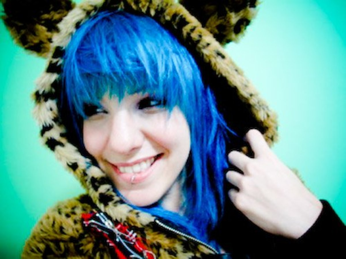 how to dye blue hair bellatory - Blue Color Hair