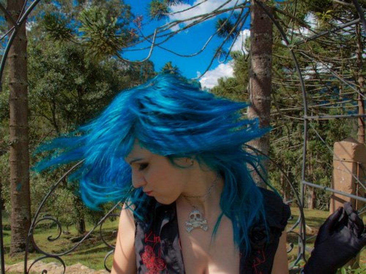 Serenity Blue Hair Chalk