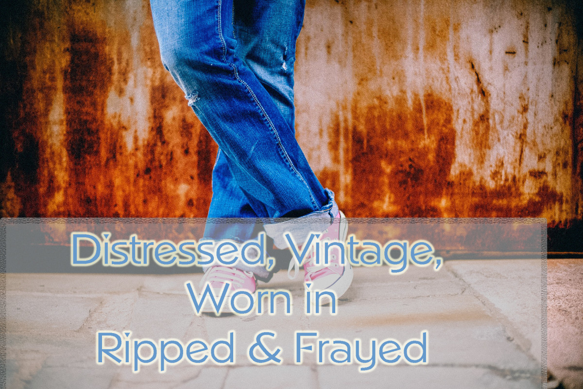 Distressed and vintage Jeans