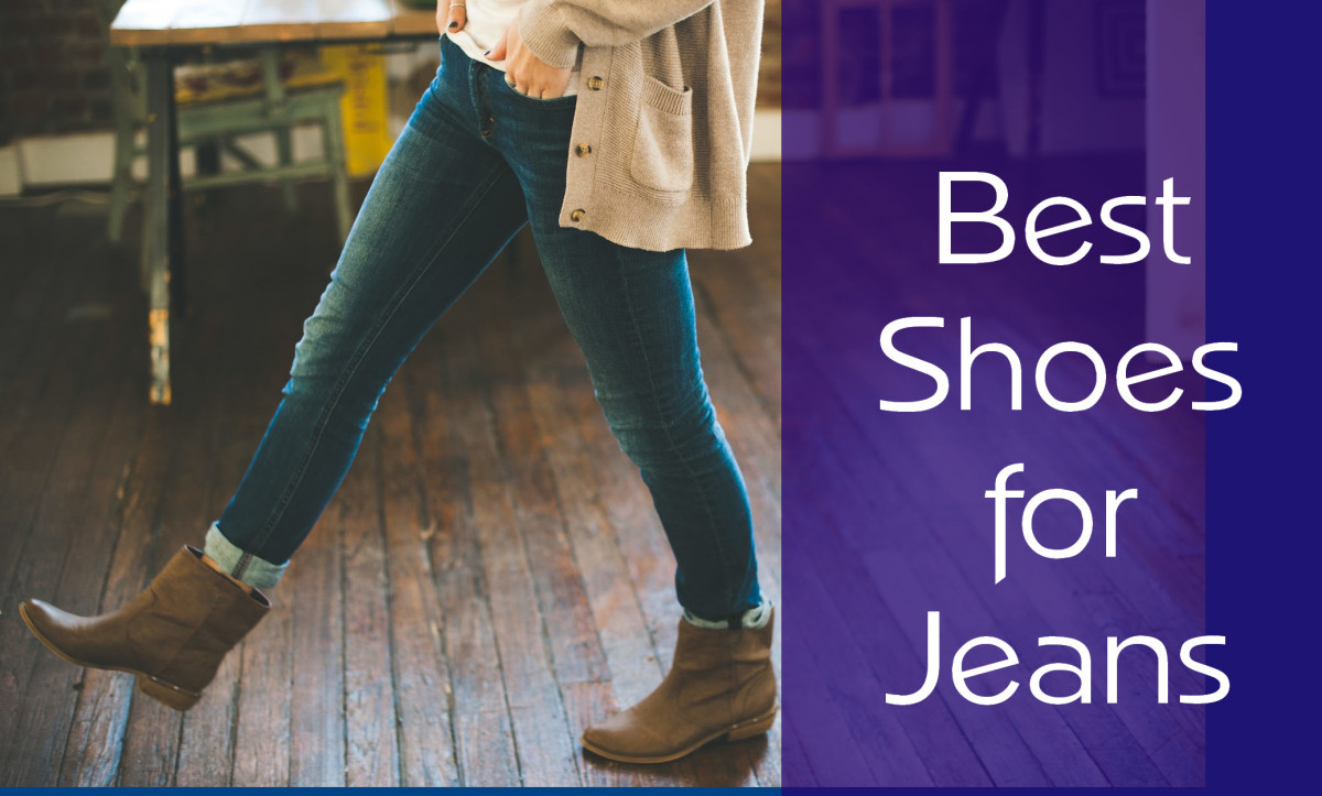Best shoes for jeans
