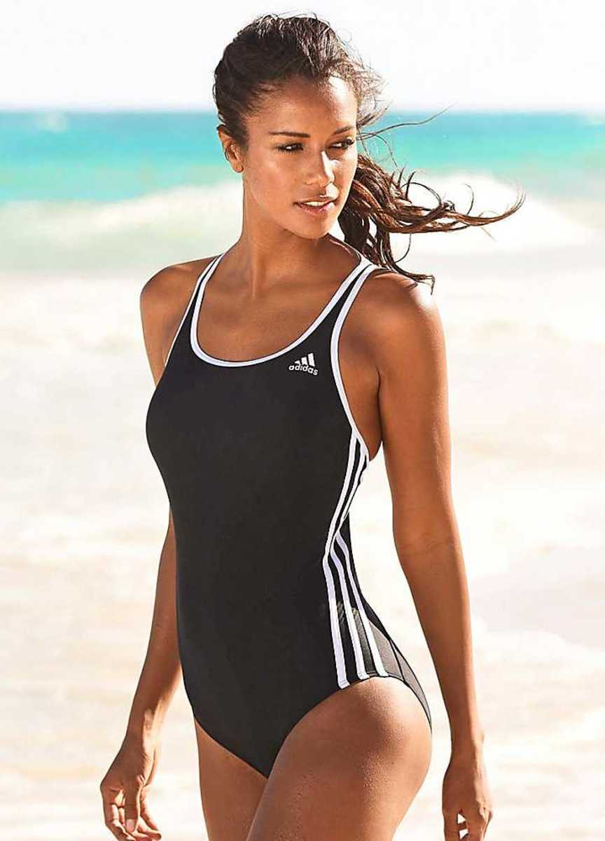 Adidas black one piece