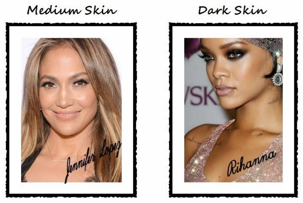 Celebrity Makeup Tips: How to Apply Strobing Highlighter (Jennifer Lopez and Rihanna