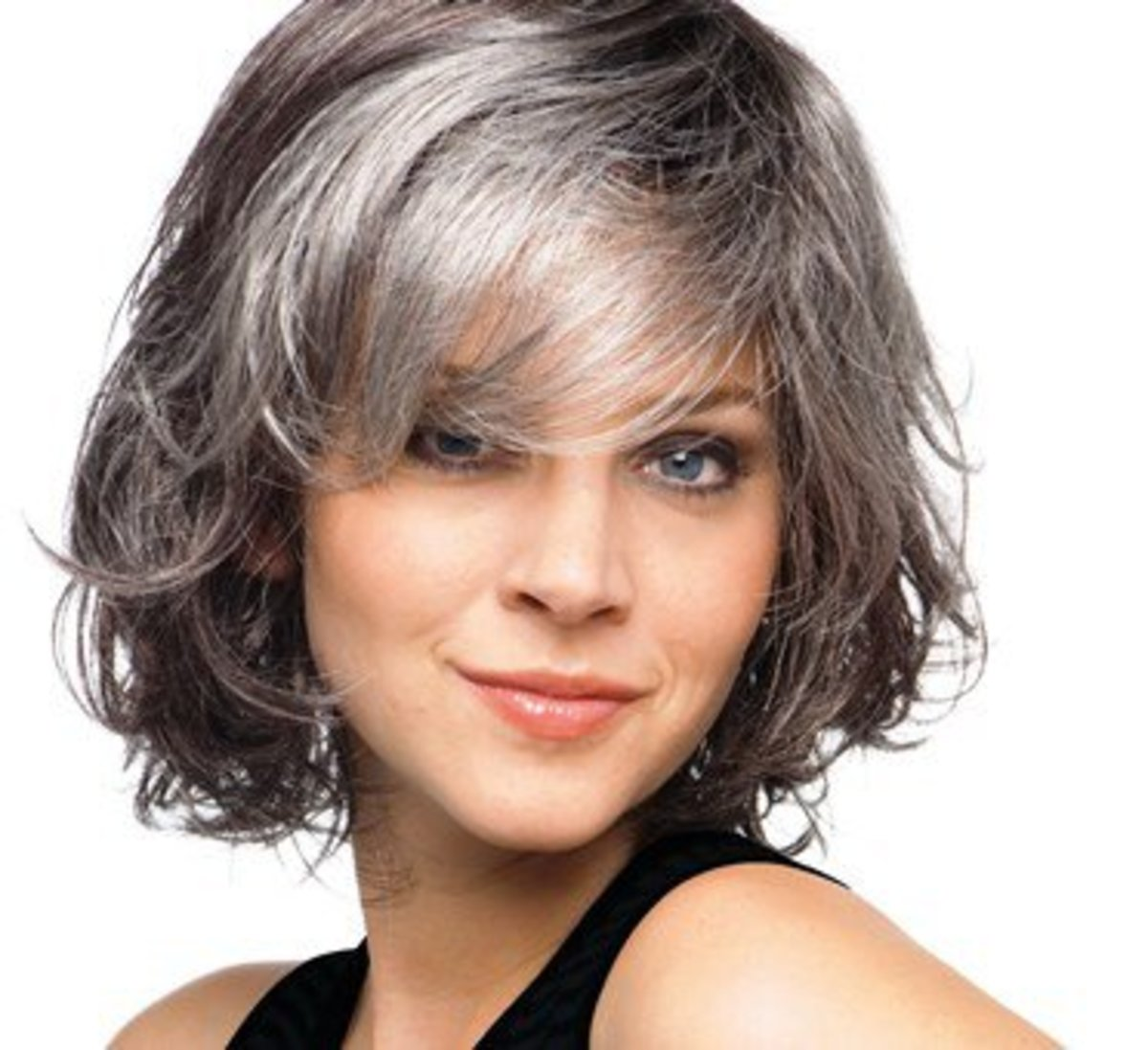 Silver Fox Hair Styles For Medium Texture Wavy Hair Bellatory