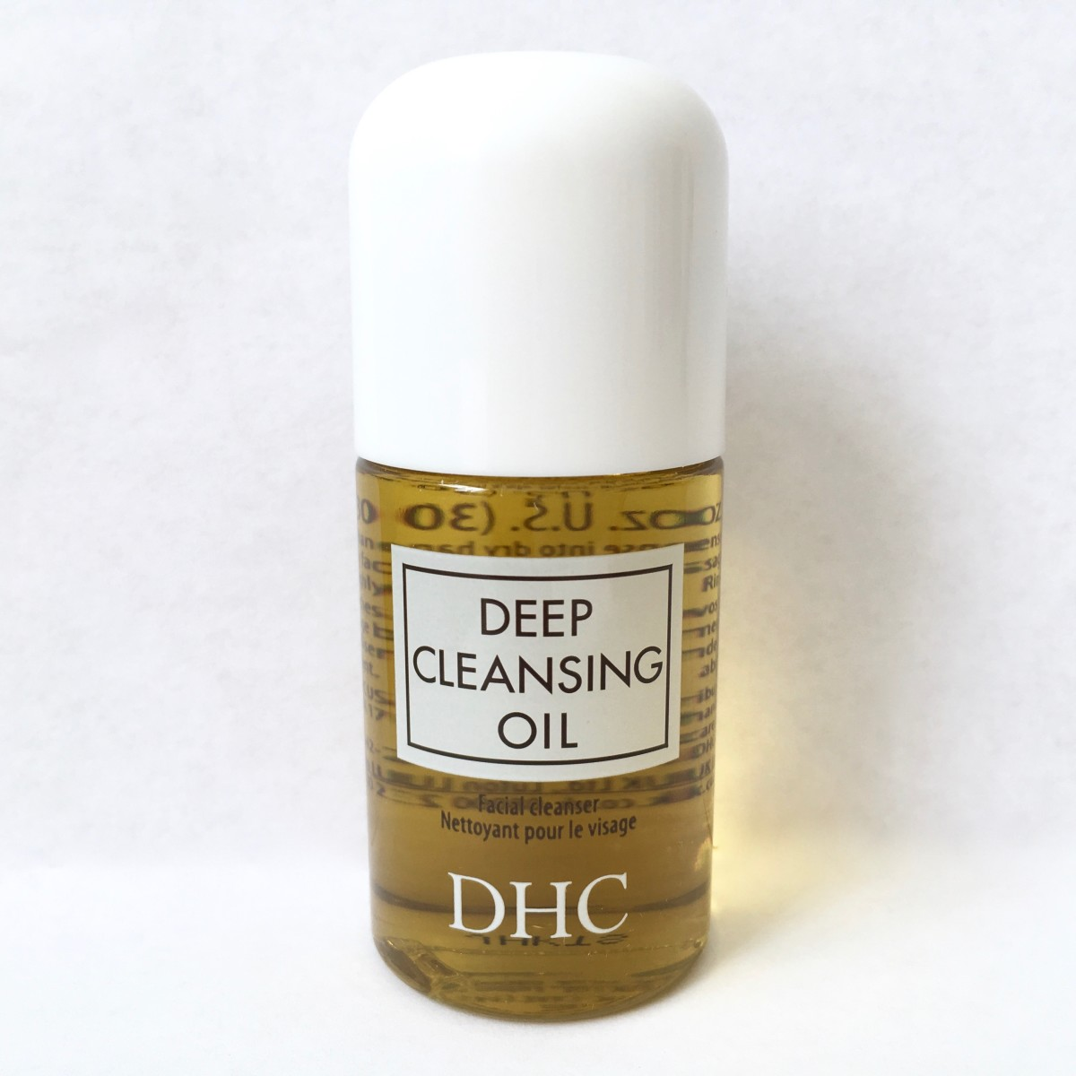 DHC Deep Cleansing Oil - The size shown is the Travel Size bottle.