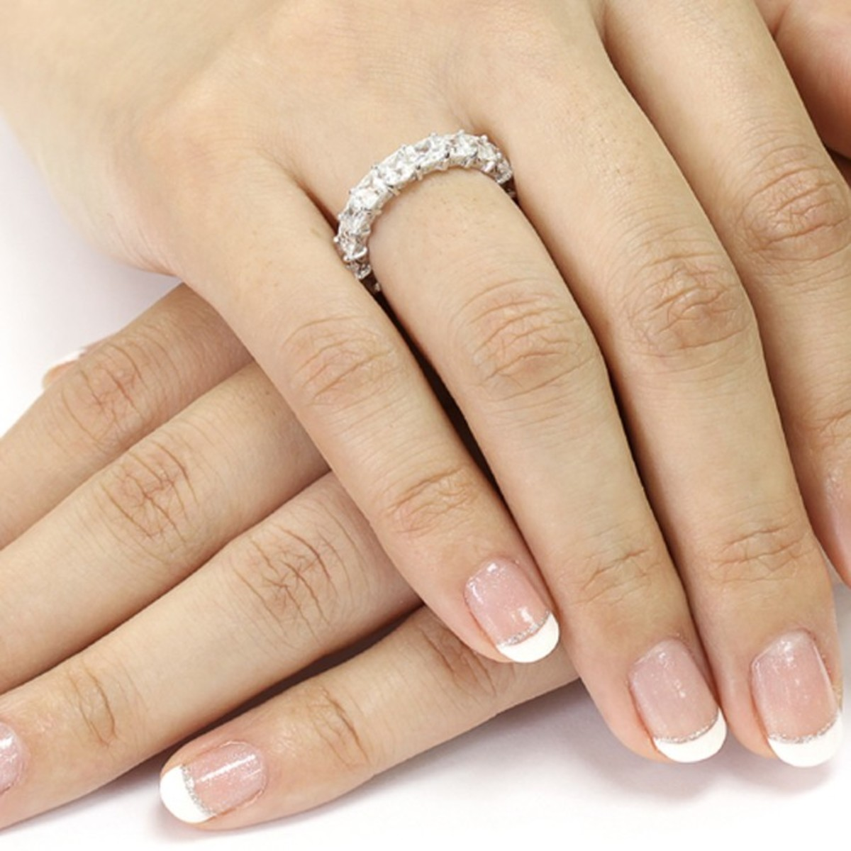 A sparkling ring.