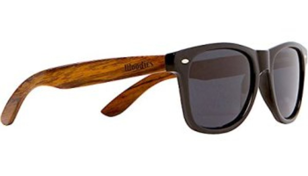 source - Wood Frame Glasses