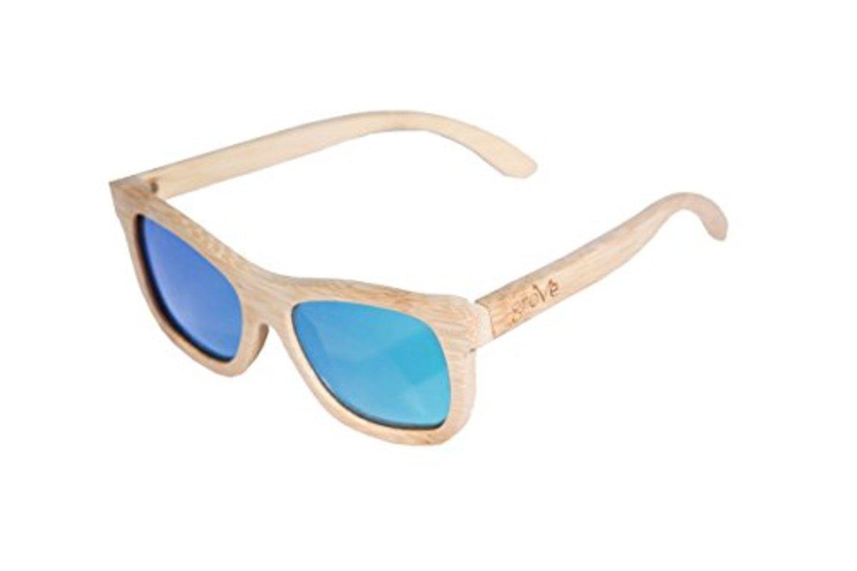 b702ed85771 Grove Eyewear 100% Bamboo Sunglasses