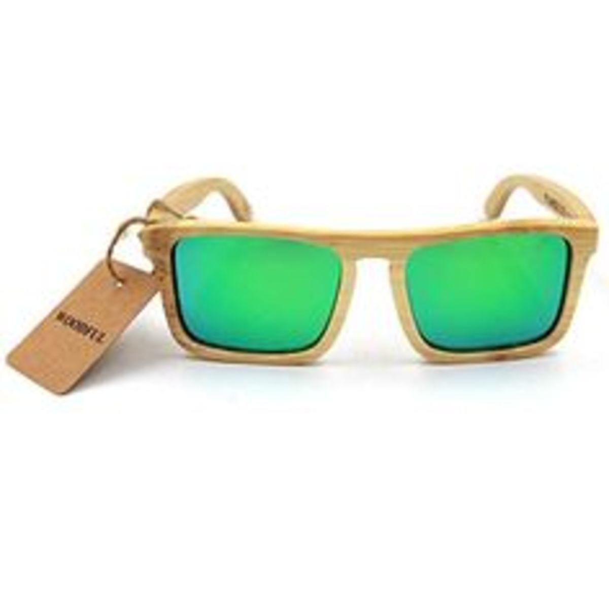 22223da58d4 Number 2  Woodful Bamboo Sunglasses