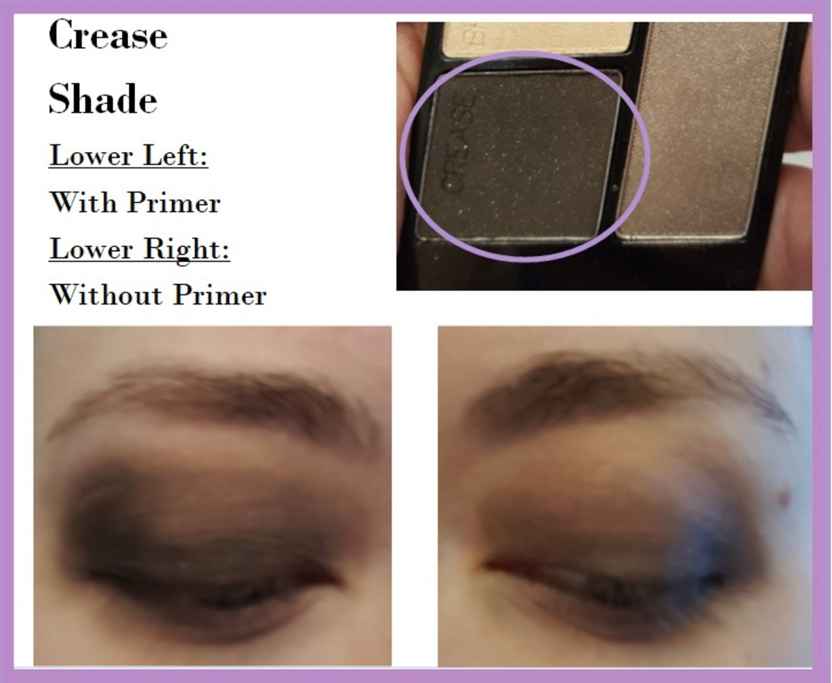 Eye swatches of the Crease Shade from the Wet 'N' Wild Color Icon Quad in Silent Treatment