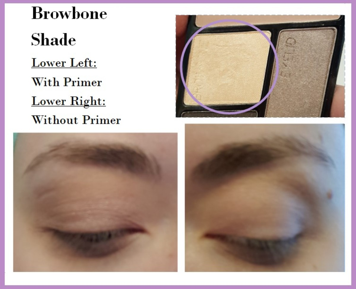 Eye swatches of the Browbone Shade from the Wet 'N' Wild Color Icon Quad in Silent Treatment