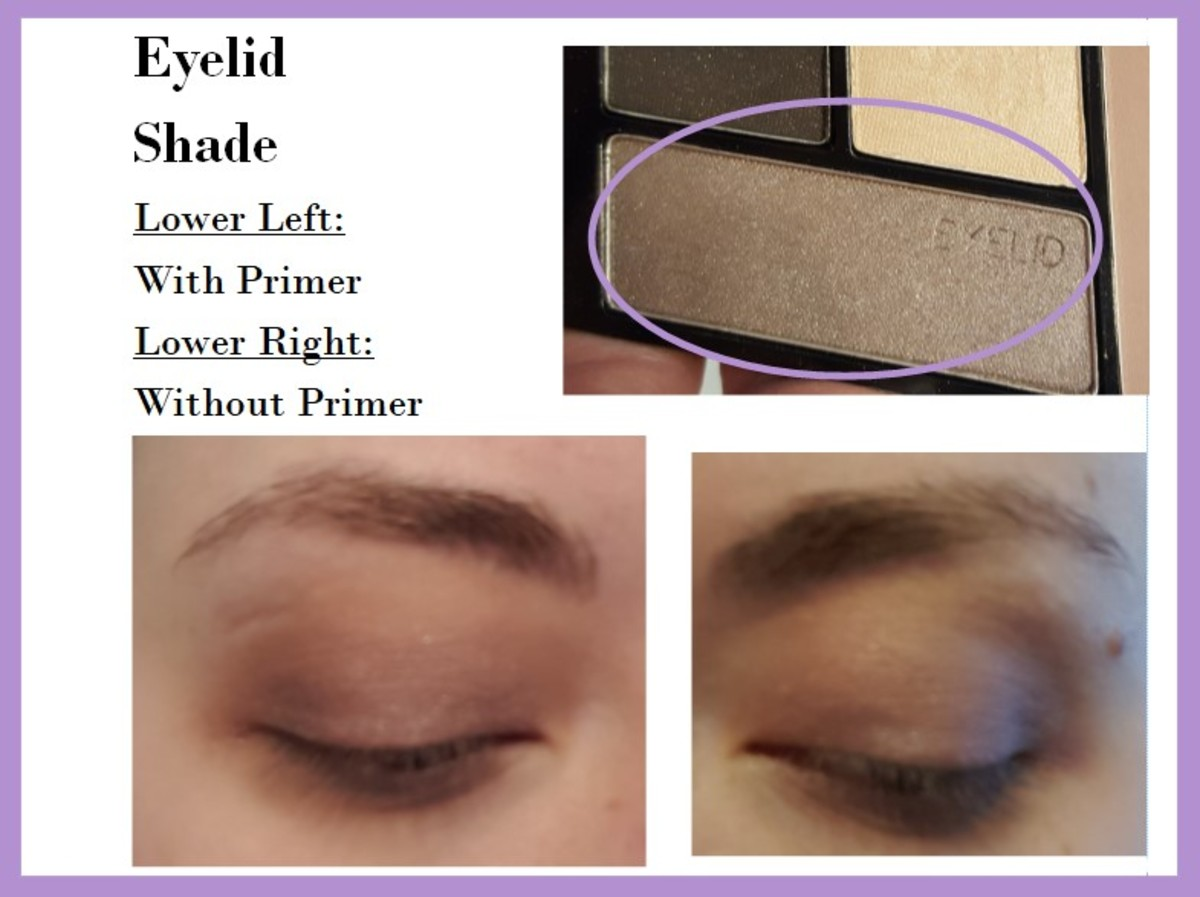 Eye swatches of the Eyelid Shade from the Wet 'N' Wild Color Icon Quad in Silent Treatment