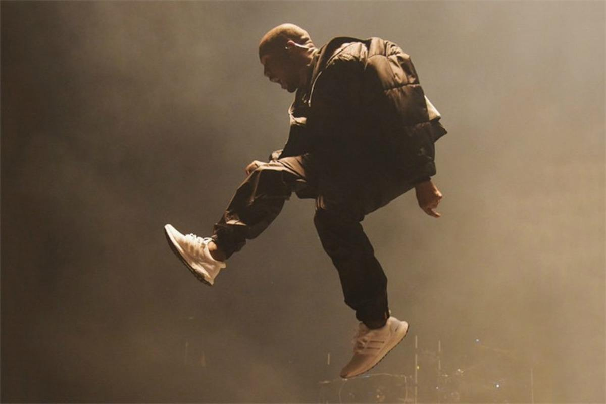 Kanye loved his boost, being spotted in the Core Blacks and Triple Whites the most