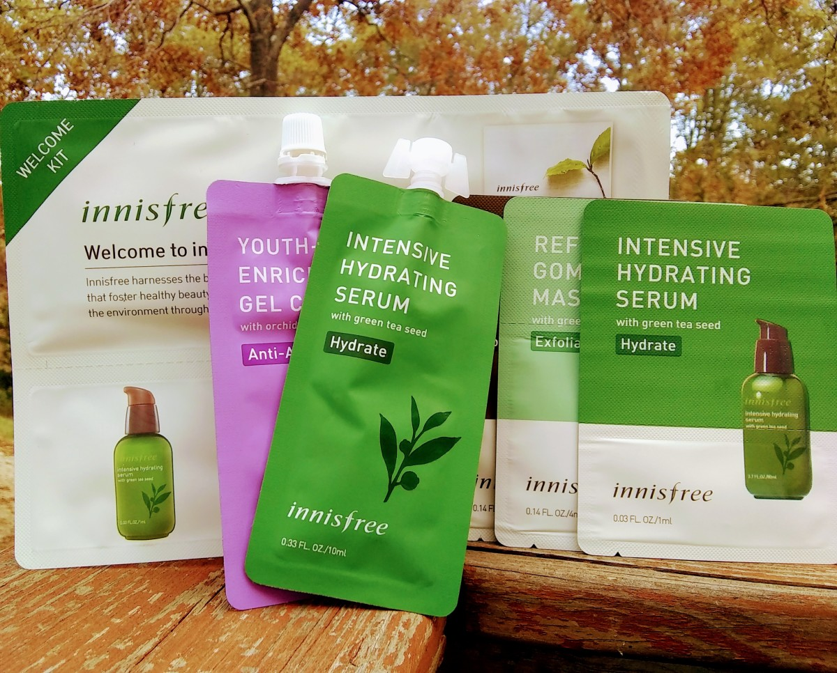Innisfree is one of many Korean beauty brands that provide ample free samples with every purchase.