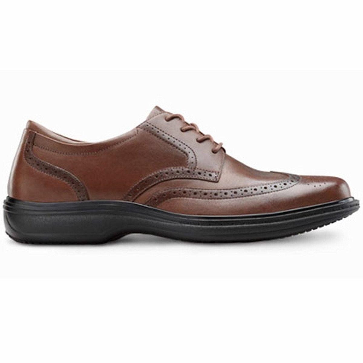d5289150bd Stylish Men's Dress Shoes for Plantar Fasciitis and Diabetic Nerve ...