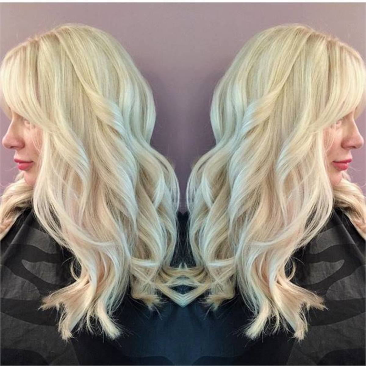 From a natural level 7 to a level 10 using Wella KP Hi-lift 12/89 and 40-volume developer. Allow to process for one hour. NO HEAT.