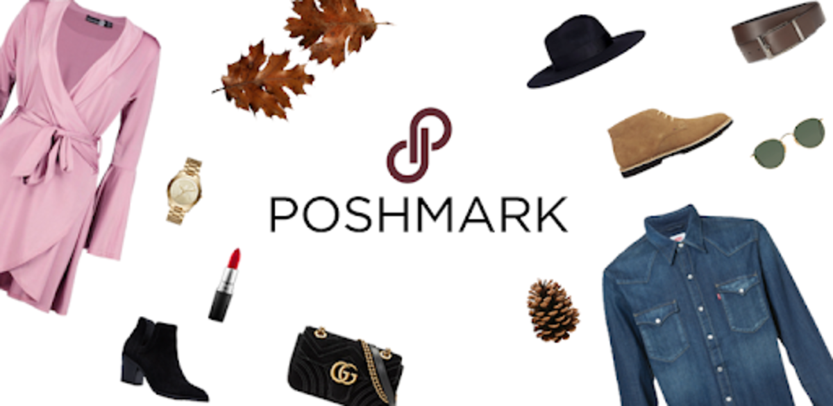 Poshmark is a site for buying and selling used clothing.