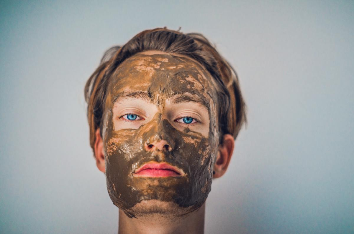 If you get a lot of build-up, then combining hydrating masks with exfoliating ones can be a lot of help in the long run by reducing how much you're actually shedding.
