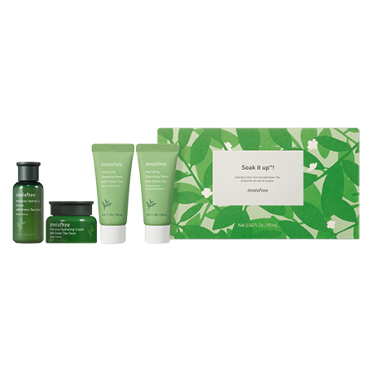 Innisfree is a South Korean cosmetics brand that I quite like, especially their green tea moisturizer.