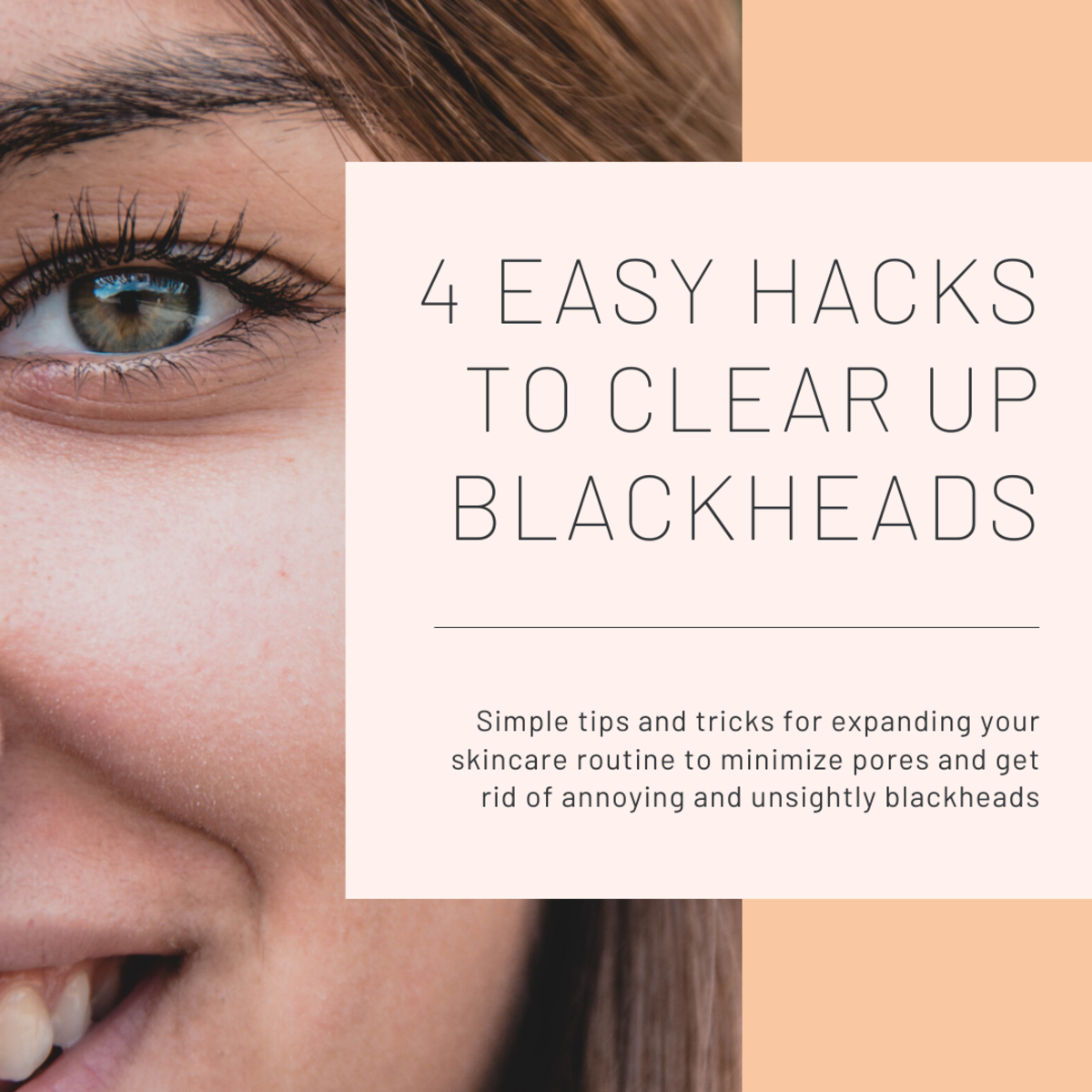 This article will break down some tips and tricks I've learned over the years to minimize your pores and get rid of blackheads.