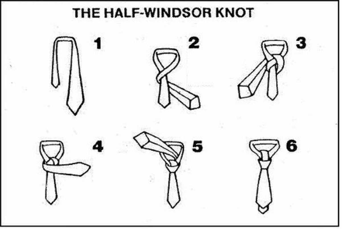 how to wear a tie easy steps
