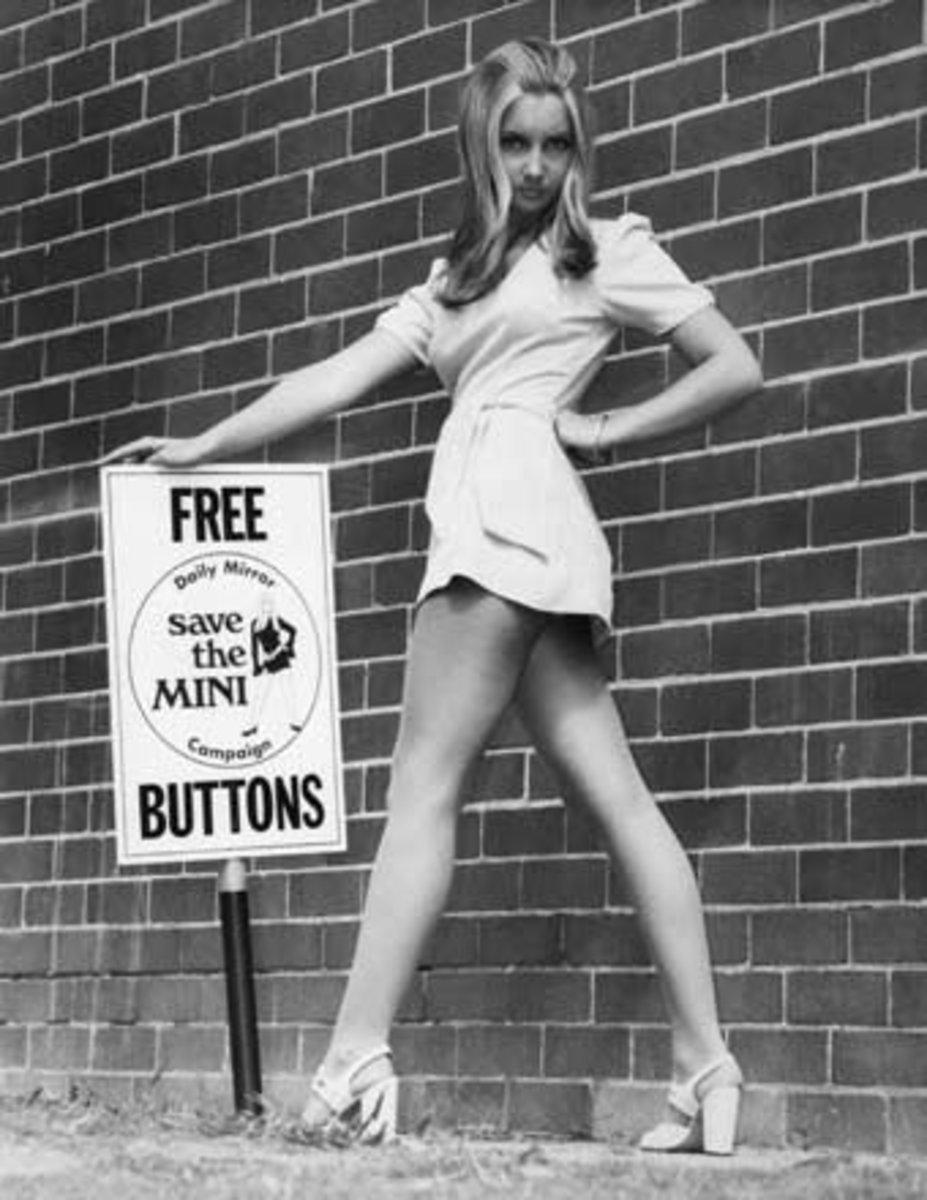 60s Mini Skirt Craze!
