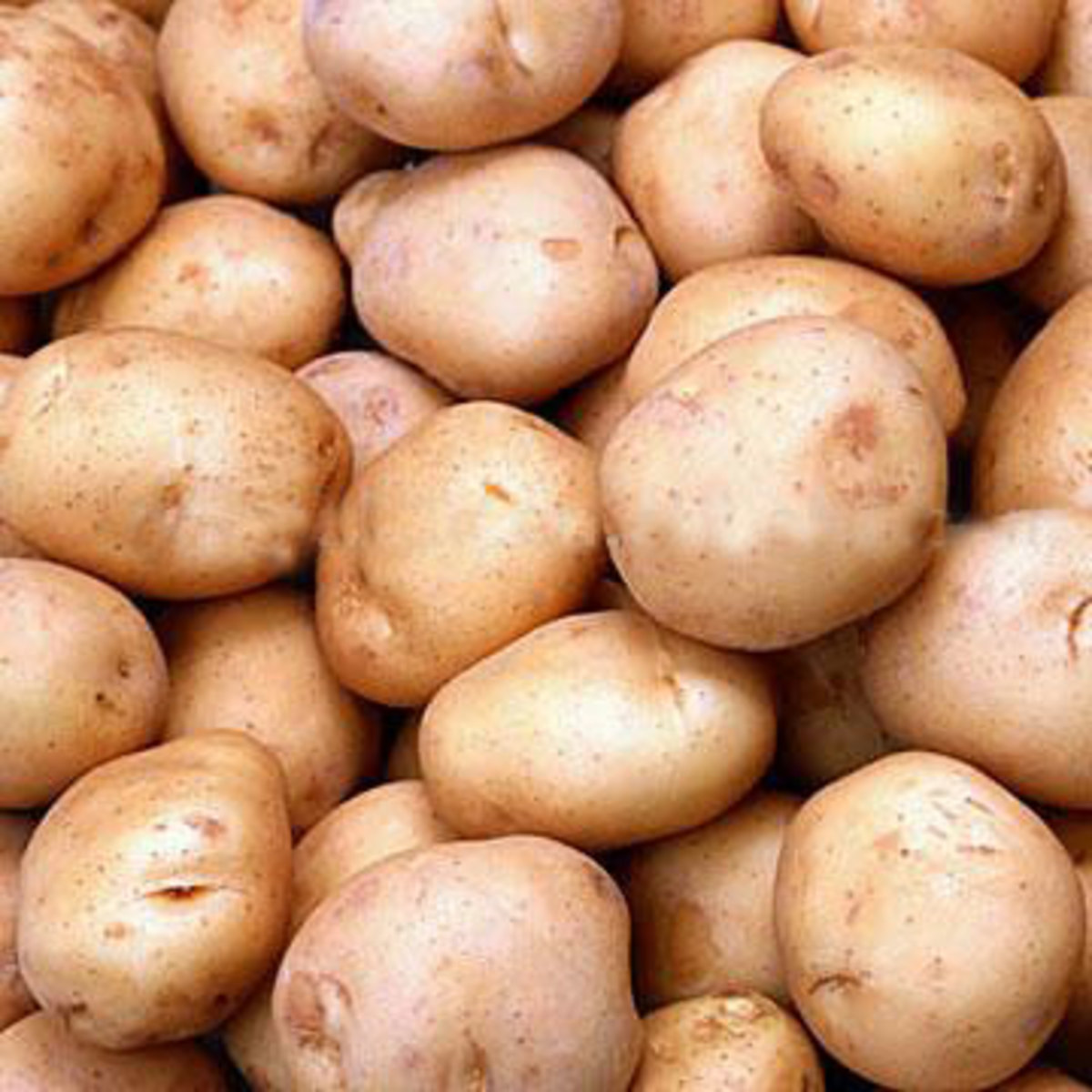 Potatoes help relieve puffiness.
